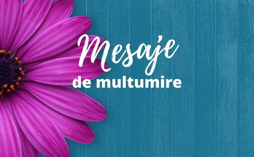 mesaje de multumire
