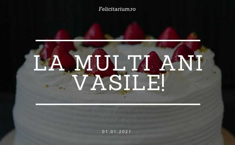 Felicitari de Sf Vasile